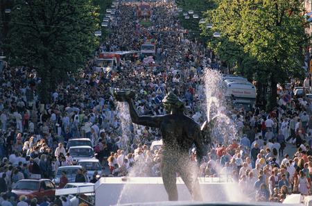 Folkliv på Avenyn, Göteborg
