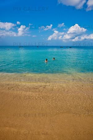 Strand på Martinique