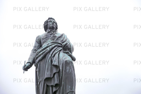 Staty av Mozart i Salzburg, Österrike