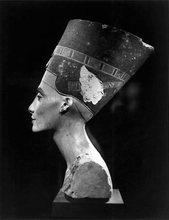 Byst av Nefertiti