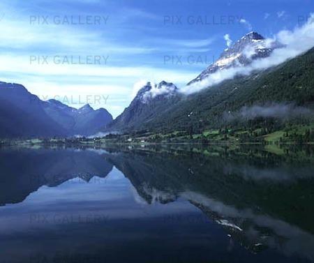 Naturlandskap i norge