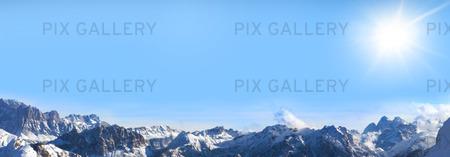 Solsken över Alperna