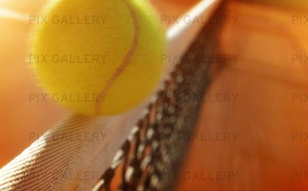 Tennisboll, en nätrullare