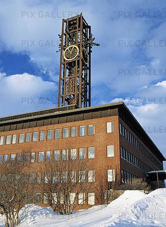 Stadshuset i Kiruna, Lappland