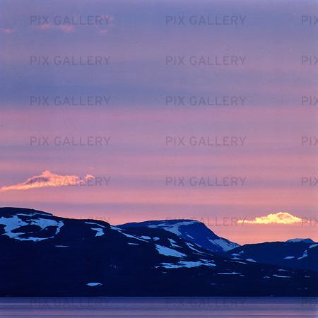 Skymning, Lappland