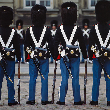 Royal Guard in Copenhagen, Denmark