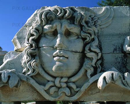 Statue of Medusa, Turkey
