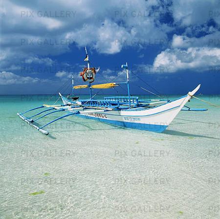 Båt påi Filippinerna