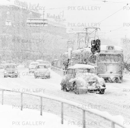 Snöoväder i Göteborg, 1960 talet