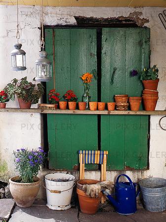 Trädgårdsdetaljer