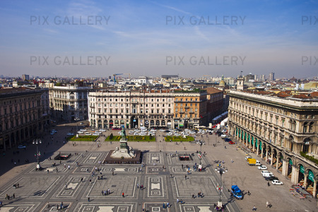 Piazza Duomo i Milano, Italien