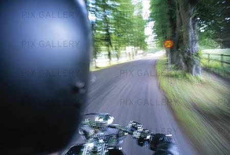 Köra motorcykel