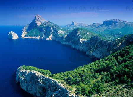 Kust på Mallorca, Spanien