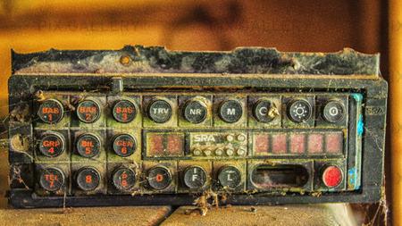 Övergiven polisradio