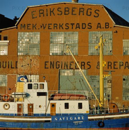 Eriksberg i Göteborgs hamn