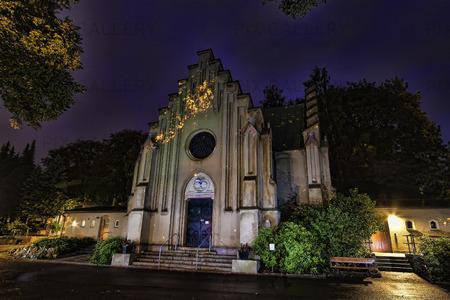 Östra kapellet, Östra kyrkogården