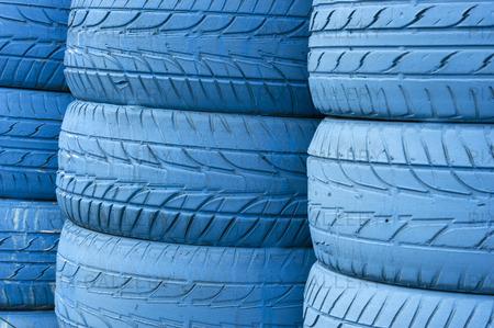 Blå däck