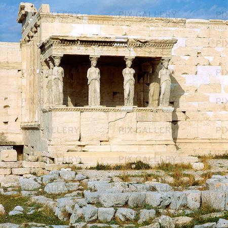 Erechtheion Tempel i Aten, Grekland