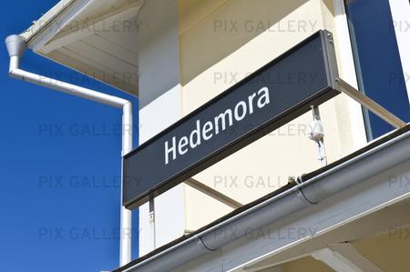 Hedemora järnvägsstation, Dalarna