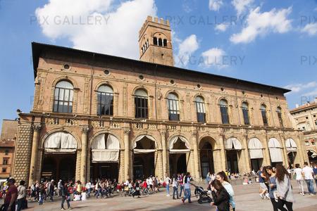 Piazza Maggiore i Bologna, Italien