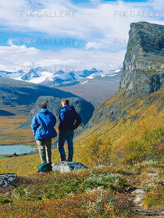 Fjällvandrare, Lappland