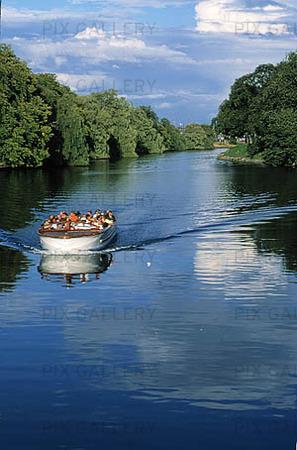 Sightseeing med båt, Malmö