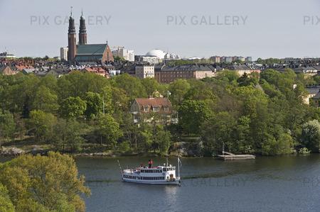 Långholmen på Södermalm i Stockholm
