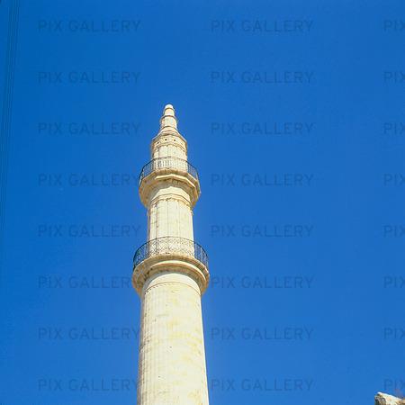 Minaret, Grekland