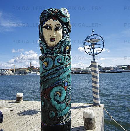 Konstverk i Göteborgs hamn