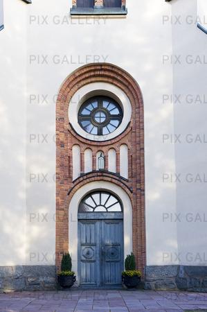 Kyrkport på Avesta kyrka, Dalarna