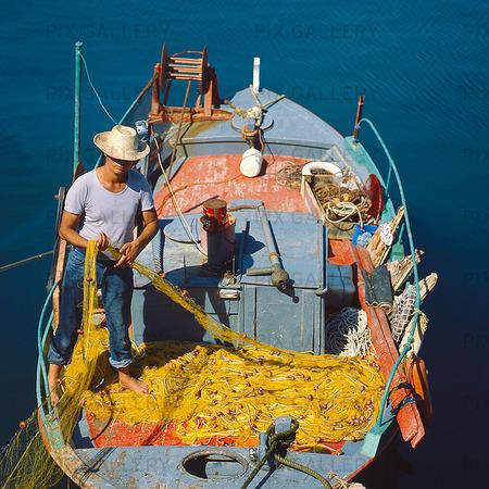 Fiskebåt, Grekland