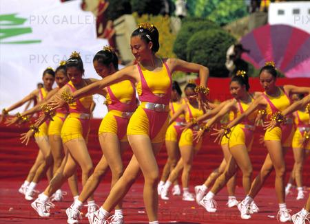 Ungdomsfestival i Kina
