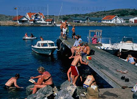 Sommaraktivitet i Bohuslän