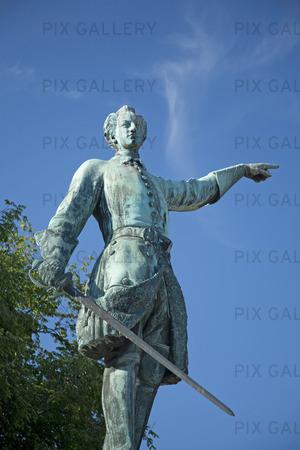 Staty Karl XII i Kungsträdgården, Stockholm