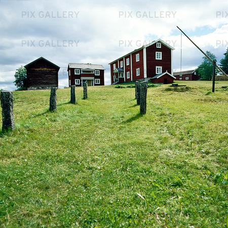 Danielsgården i Bingsjö, Dalarna