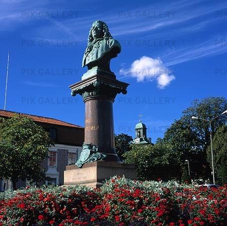 Byst av Jonas Alströmer, Alingsås