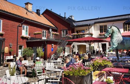 Uteservering i Örebro, Närke