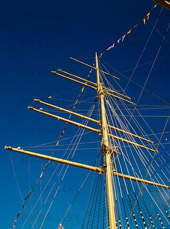 Mast på Barken Viking, Göteborg