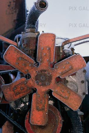 Gammal motor