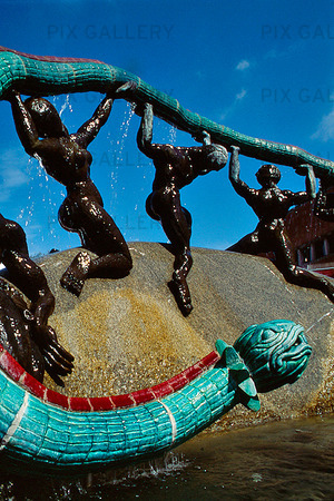 Bild på Känd utsmyckning i Hjörring, Danmark (S4PXMB): Rights-Managed foto | Bildbyrå Pix Gallery