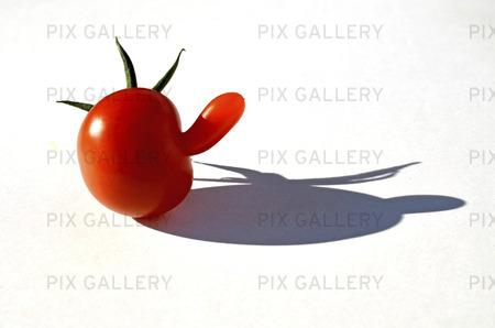 Tomat med utväxt
