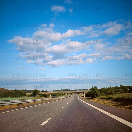 Bilkörning på motorväg