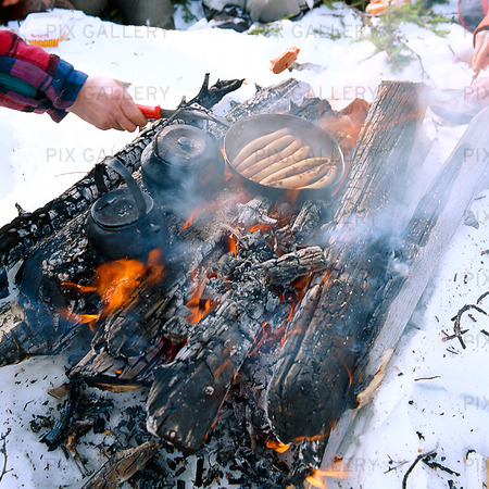 Öppen eld, Lappland