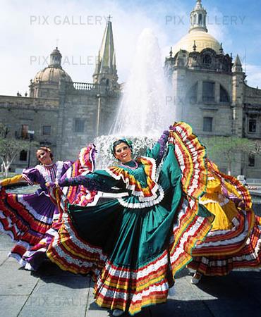 Guadalajara dansare, Mexico