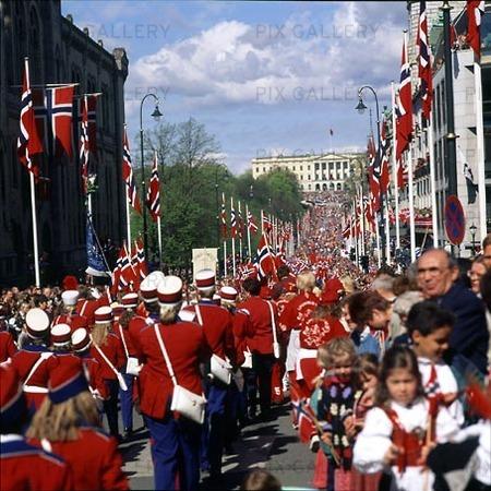 Norges Nationaldag, Oslo