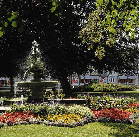 Park i Kungsbacka, Halland
