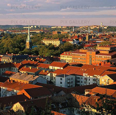 Vy över Haga, Göteborg