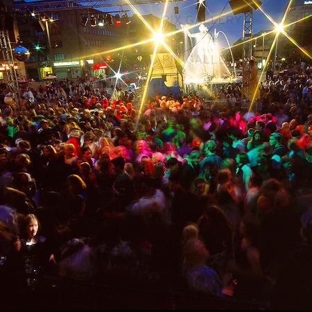 Disco på Götaplatsen, Göteborg