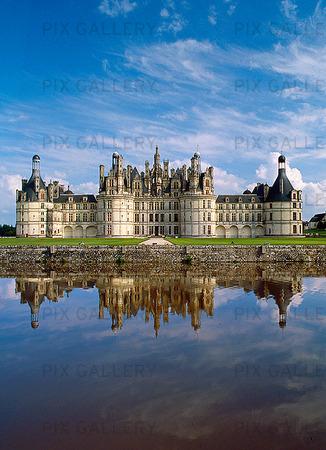 Palace of Chambord, France