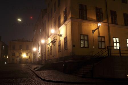 Husfasad på Riddarholmen, Stockholm